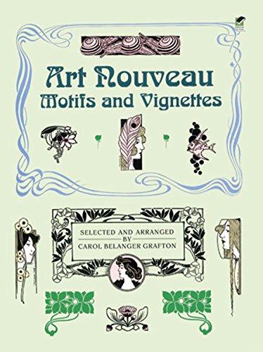 9780486259369: Art Nouveau Motifs and Vignettes (Dover Pictorial Archive)