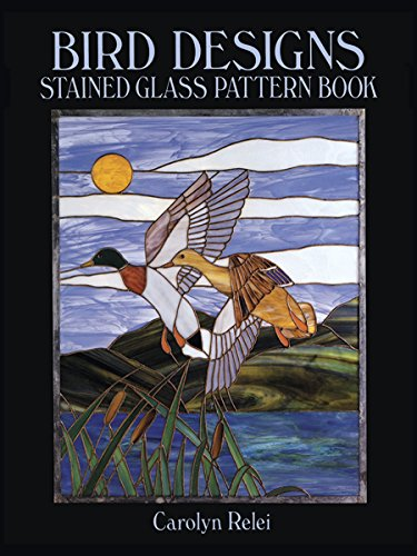 9780486259475: Bird Designs Stained Glass Pattern Book (Dover Stained Glass Instruction)