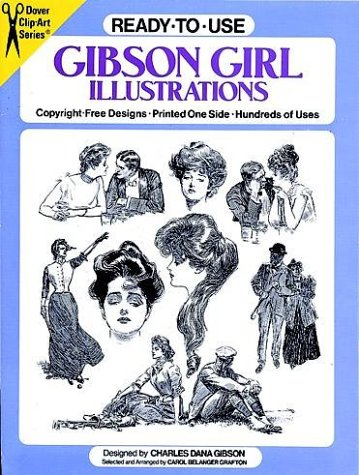 9780486259611: Ready-to-Use Gibson Girl Illustrations (Clip Art Series)