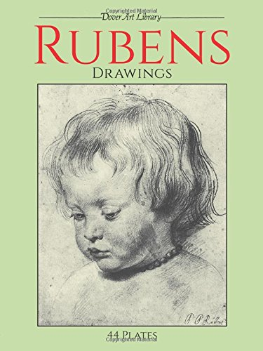 9780486259635: Rubens Drawings: 44 Plates (Dover Fine Art, History of Art)
