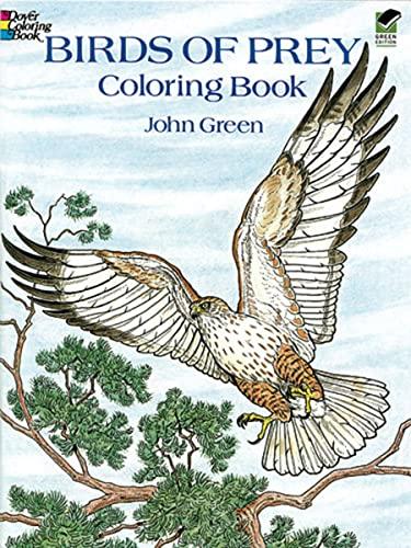 9780486259895: Birds of Prey Coloring Book