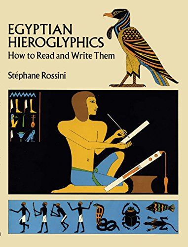 9780486260136: Egyptian Hieroglyphics: How to Read and Write Them