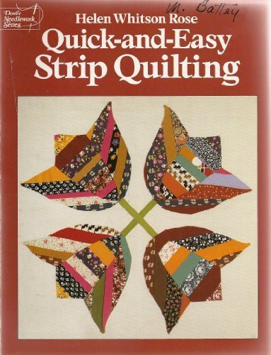 9780486260181: Quick-And-Easy Strip Quilting (Dover Needlework Series)
