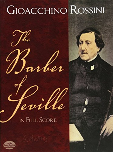 9780486260198: The Barber of Seville in Full Score
