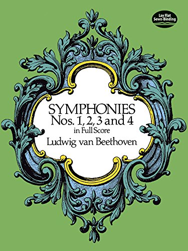 9780486260334: Symphonies Nos. 1, 2, 3 and 4 in Full Score (Dover Music Scores)