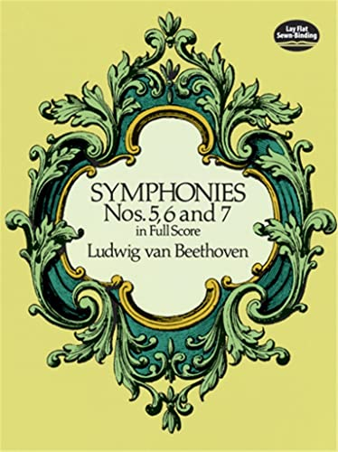 9780486260341: Beethoven Symphonies Nos. 5, 6 And 7 (Full Score) Orch