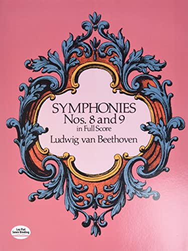 9780486260358: Symphonies Nos. 8 and 9 in Full Score