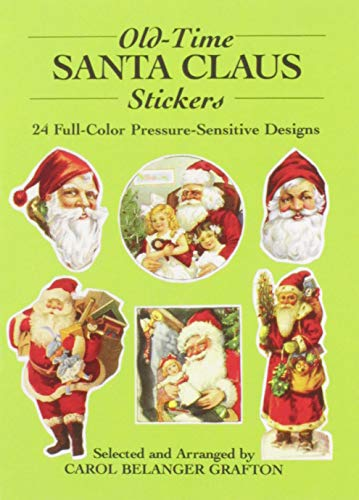 9780486260471: Old-Time Santa Claus Stickers: 24 Full-Color Pressure-Sensitive Designs (Dover Stickers)