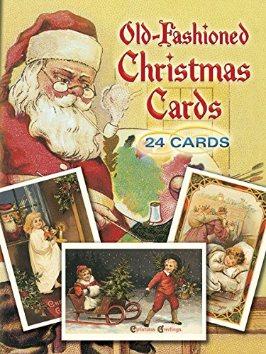 9780486260570: Old-Fashioned Christmas Postcards: 24 Full Color Ready-To-Mail Postcards