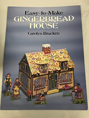 9780486260730: Easy-To-Make Gingerbread House