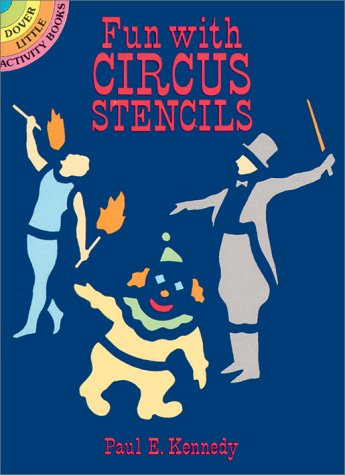 9780486260846: Fun with Circus Stencils (Dover Little Activity Books)