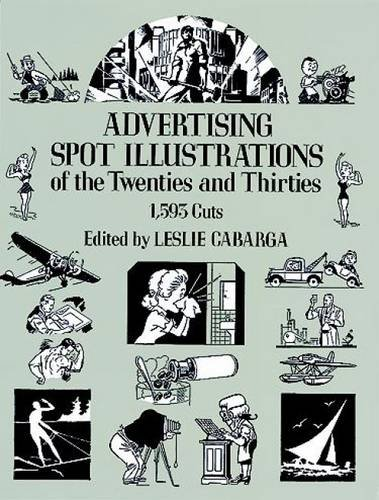 Advertising Spot Illustrations of the Twenties and Thirties