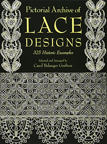 9780486261126: Pictorial Archive of Lace Designs: 325 Historic Examples