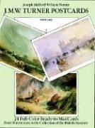 J. M. W. Turner Postcards: 24 Full-Color: Turner, Joseph Mallord