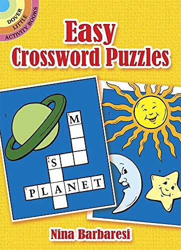 9780486261287: Easy Crossword Puzzles (Dover Little Activity Books)