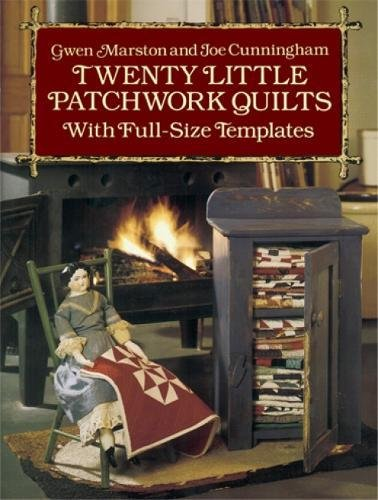 9780486261317: Twenty Little Patchwork Quilts: With Full-Size Templates (Dover Quilting)