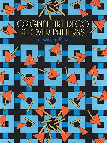 9780486261393: Original Art Deco Allover Patterns (Dover Pictorial Archive)