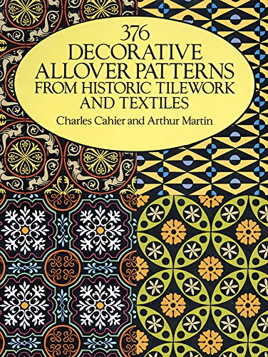 9780486261461: 37 Decorative Allover Patterns from Historic Tile Work and Textiles (Dover Pictorial Archive)