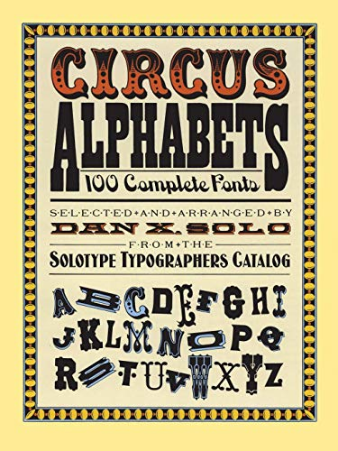 9780486261553: Circus Alphabets (Lettering, Calligraphy, Typography)