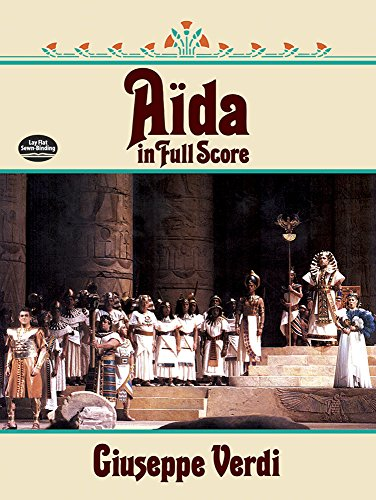 9780486261720: Aida in Full Score (Dover Music Scores)