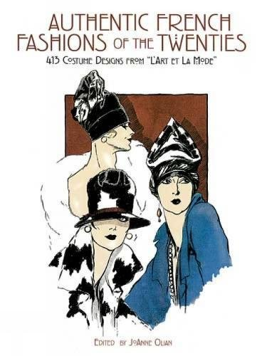 9780486261874: Authentic French Fashions of the Twenties: 413 Costume Designs from