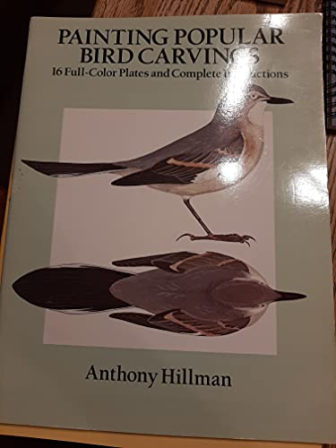 9780486262482: Painting Popular Bird Carvings: 16 Full Color Plates and Complete Instructions