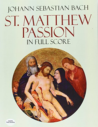 9780486262574: St. Matthew Passion in Full Score (Dover Music Scores)