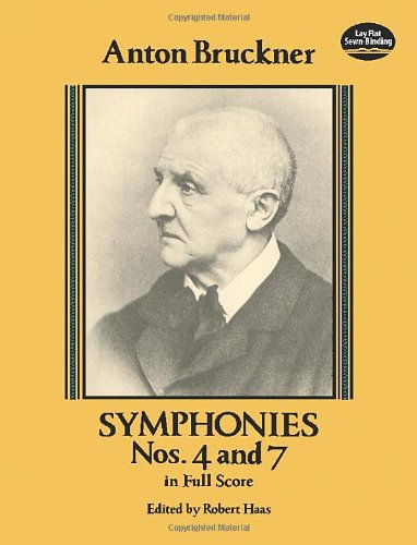 9780486262628: Symphonies Nos. 4 and 7 in Full Score