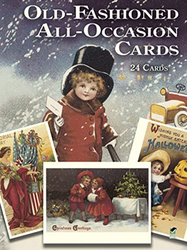 9780486262659: Old-Fashioned All-Occasion Postcards: 24 Full-Color Ready-To-Mail Cards