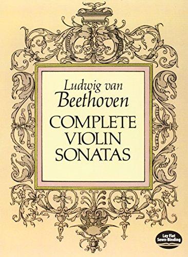 9780486262772: Complete Violin Sonatas (Dover Chamber Music Scores)