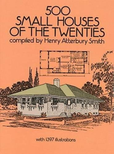 9780486263007: 500 Small Houses of the Twenties (Dover Architecture)