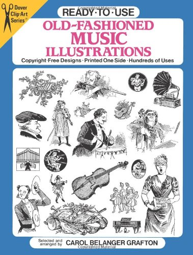 9780486263052: Ready-To-Use Old-Fashioned Music Illustrations: Copyright-Free Designs, Printed One Side, Hundreds of Uses