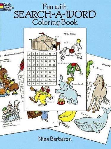 9780486263274: Fun with Search-a-Word Coloring Book (Dover Children's Activity Books)