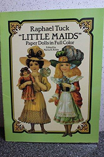 "9780486263328: Raphael Tuck ""Little Maids"" Paper Dolls in Full Colour"
