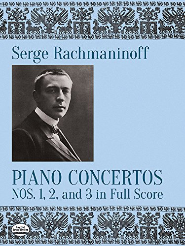 9780486263502: Piano Concertos Nos. 1, 2, and 3 in Full Score