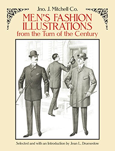 9780486263533: Men's Fashion Illustrations from the Turn of the Century