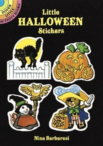 9780486263908: Little Halloween Stickers