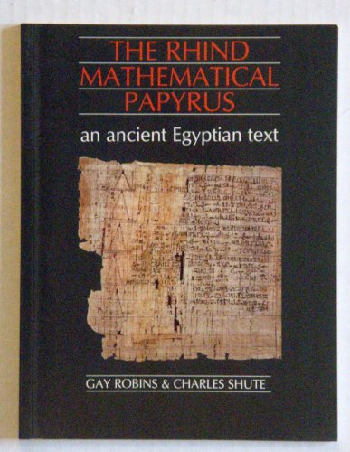 9780486264073: The Rhind Mathematical Papyrus: An Ancient Egyptian Text