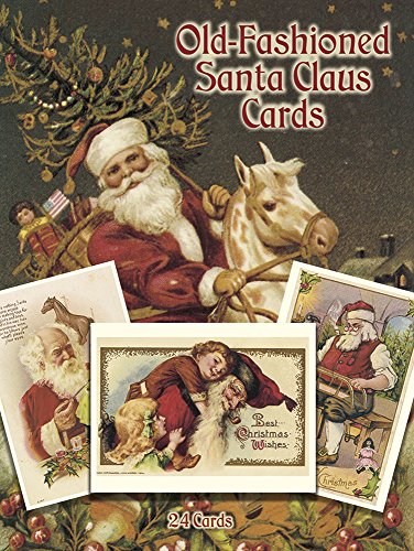 9780486264097: Old-Fashioned Santa Claus Cards: 24 Cards (Dover Postcards)