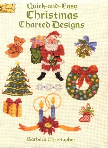 9780486264196: Quick-And-Easy Christmas Charted Designs (Dover Needlework)
