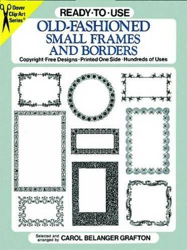 9780486264479: Ready-to-Use Old-Fashioned Small Frames and Borders (Dover Clip Art Ready-to-Use)