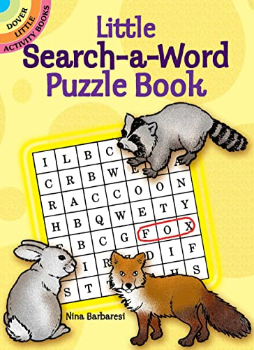 9780486264554: Little Search-a-Word Puzzle Book (Dover Little Activity Books)