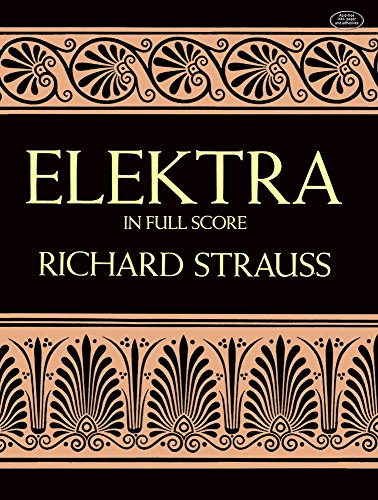 9780486265384: Elektra in Full Score (Dover Music Scores)