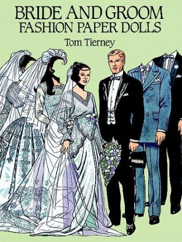 9780486265391: Bride and Groom Fashion Paper Dolls