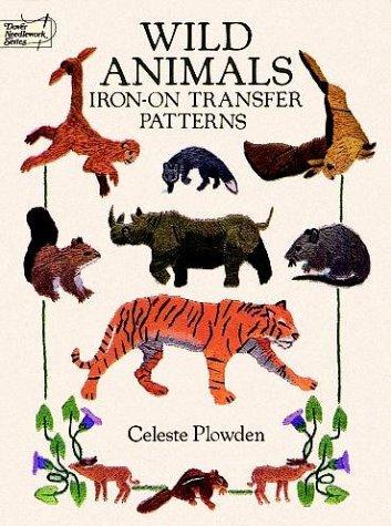 9780486265445: Wild Animals Iron-on Transfer Patterns