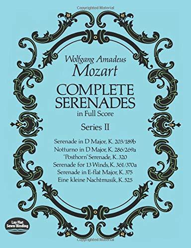 9780486265667: Complete Serenades in Full Score, Series II (Dover Music Scores)