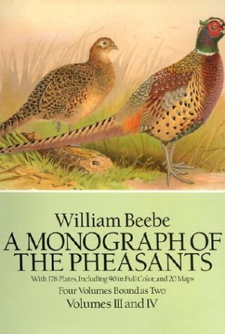 A Monograph of the Pheasants (Four Volumes Bound As Two/Volumes I II III and IV complete set: ...