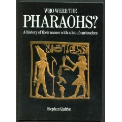 9780486265865: Who Were the Pharaohs?: A History of Their Names with a List of Cartouches