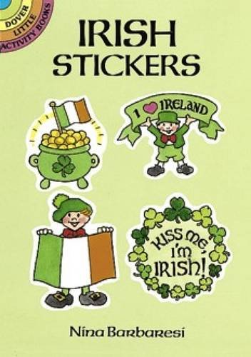 9780486265902: Irish Stickers (Dover Little Activity Books Stickers)