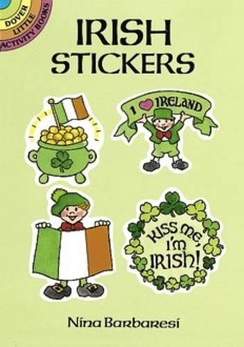 9780486265902: Irish Stickers (Dover Little Activity Books Stickers)